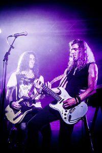 Jacko en Tristan bij Jackfire Live Band