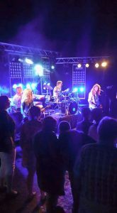 Jackfire in Duitsland op het podium