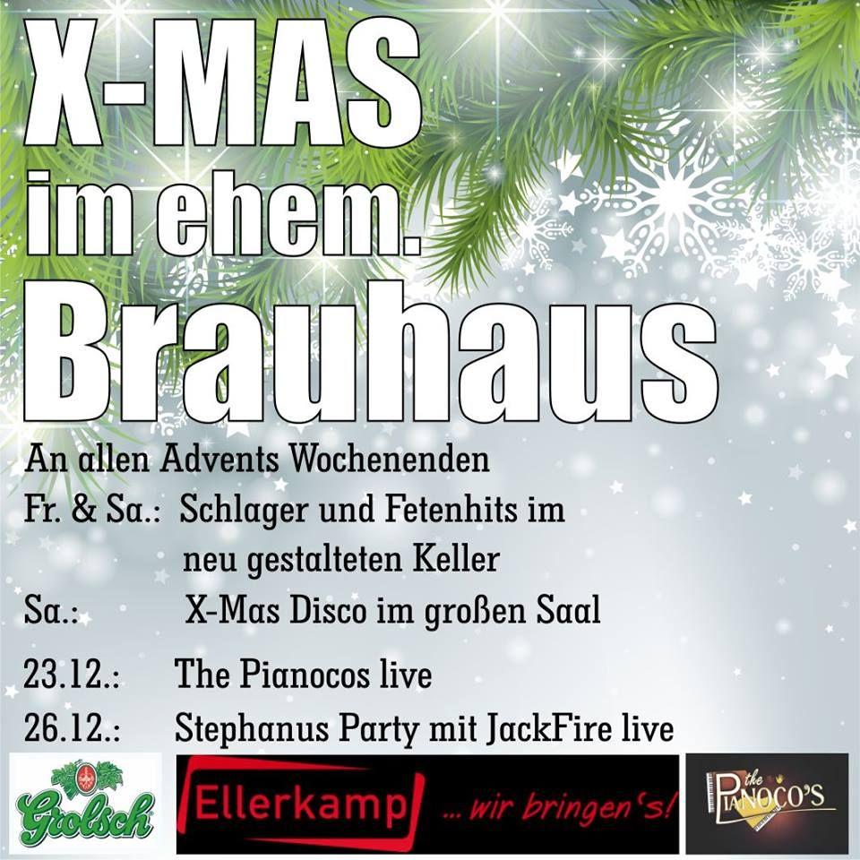 Stephanus Party XMAS in ehem Brauhaus - Jackfire Live Band