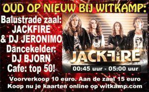 Oud Op Nieuw Feest bij Witkamp Laren met Jackfire Live